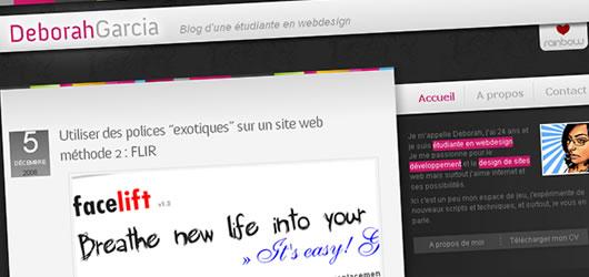 Le nouveau blog